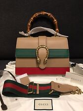 NWT Gucci Dionysus leather top handle bag medium retail $2980