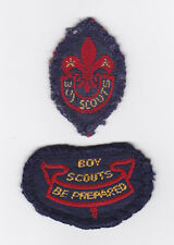 1940's UNITED KINGDOM BRITISH SCOUTS - SEA SCOUT TENDERFOOT 2ND CLASS Badge
