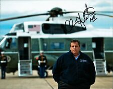 New Jersey Governor CHRIS CHRISTIE In-person Signed Photo