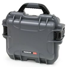 Graphite Nanuk 905 Case With Foam & Pelican TSA- 1200 Lock.