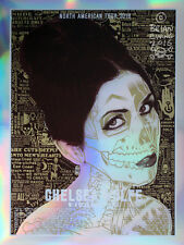 Chelsea Wolfe Poster - Mirror Foil Variant - Brian Ewing - Limited Edition of 5