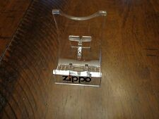 ZIPPO LIGHTER DISPLAY STAND EASEL MINT AND UNUSED LOT OF 10
