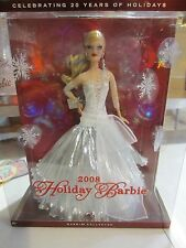 HOLIDAY BARBIE 2008 - CELEBRATING 20 YEARS OF HOLIDAYS - NRFB