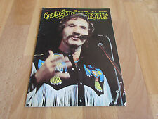 COUNTRY Music People Magazine Apr 1981 / 81 Marty ROBBINS Cover Vol 12 No 4