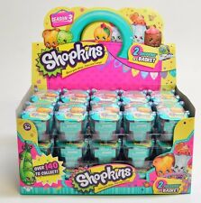 60% OFF -AUTHENTIC- SEASON 3 Shopkins 2-In-A-Basket - Case of 30 SEALED