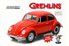 GREENLIGHT 1:18 HOLLYWOOD GREMLINS 1967 VOLKSWAGEN BEETLE W/ GIZMO FIGURE 12985