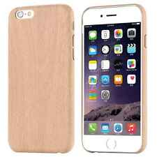 Ultra Thin Slim Retro Wood Grain Case Soft Back Cover For iPhone SE 5 5s 6 6s +