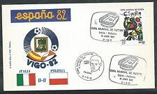 1982 ITALIA BUSTA SPECIALE COPPA DEL MONDO CALCIO ITALIA POLONIA - EDG6
