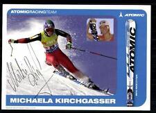Michaela Kirchgasser Autogrammkarte Original Signiert Weltmeisterin 2007 +A14202