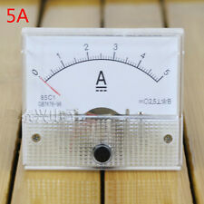 Analog AMP Current Panel Meter DC 0~5A Ammeter