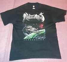 NOCTURNUS Thresholds old t-shirt bootleg 90s size M Pestilence Brutality Sadist
