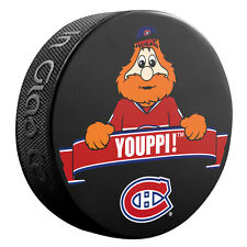 NHL Montreal Canadiens Youppi The Mascot Hockey Souvenir Puck