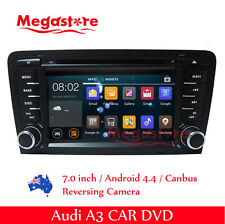 """7""""  Android Audi A3 Car DVD GPS Stereo Player Head Unit 2003-2014"""