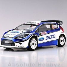Kyosho DRX VE Ford Fiesta S2000 1/9 ReadySet Electric Rally Car w/KT-200 2.4GHz