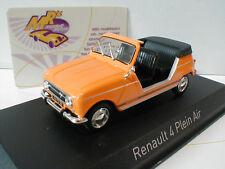 Norev 510044 # Renault 4L Plein Air Baujahr 1968 orange 1:43 NEUHEIT