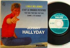JOHNNY HALLYDAY (CD single)  L'IDOLE DES JEUNES   Edt Code Barre NUMEROTEE