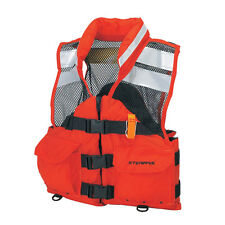 STEARNS I426ORG-04-000F LIFE JACKET - Search and Rescue (SAR) Flotation Vest (L)