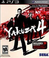 Yakuza 4  --  Sony PlayStation 3 PS3 Game Complete  ***Guaranteed***