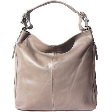 Shoulder Bag Italian Genuine Leather Hand made in Italy Florence 3013 gr