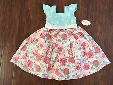 NWT Magpie and Mabel 6 girls Easter party dress bunny flower Spring Summer