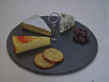 New LINEA from House of Fraser Slate Serving platter Round, cheese board dish