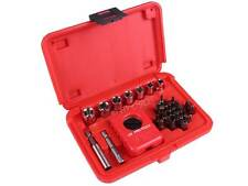 US PRO 32 Piece 1/4 inch Hand Palm Ratchet Set Phillips slotted Hex Bits