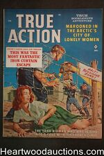 True Action Feb 1962 James Bama Cvr, Nappi, Stanley, Kunstler - Ultra High Grade