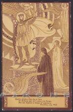 EZIO ANICHINI PARADISO DIVINA COMMEDIA Divine Comedy DANTE Cartolina 39a