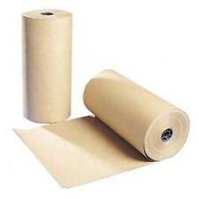 """18"""" 30 lbs 1200 Ft Brown Kraft Paper Roll Shipping Wrapping Cushioning Void Fill"""