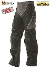 Xelement Advanced Level-3 Black Tri-Tex Fabric Motorcycle Pants size 34