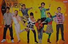 DAS HAUS ANUBIS - A3 Poster (ca. 42 x 28 cm) - Clippings Fan Sammlung NEU