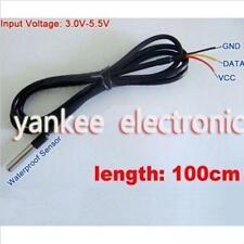 Waterproof Digital Thermal Probe or Sensor DS18B20 DS18B20 Arduino Sensor