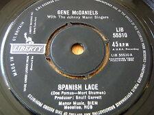 "GENE McDANIELS - SPANISH LACE    7"" VINYL"