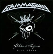 GAMMARAY Skeletons & Majesties CD w/ EXTENEDED and KARAOKE Version Gamma ray