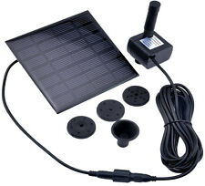 1.2 W Panel Solar Power Pump Para Jardín, Piscina Entrega Gratis