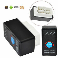 ELM327 V2.1 Bluetooth OBD2 OBD II Auto Diagnostic Scanner ON/OFF Switch Android