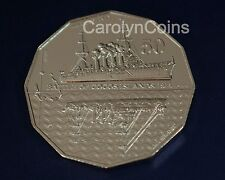 "50 Cent Coin 2014 Australia at War "" Battle of Cocos Island 1914 "" UNC 50c"