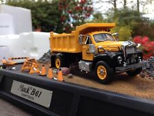 Franklin Mint 1960 Mack Dump Truck 1/43
