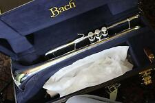 Bach Stradivarius LR180S37 Professional Trumpet in Bb MINT REVERSE LEADPIPE Quin