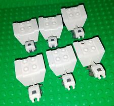 LEGO Minifigure 3 Wheeler Parts Lot White ATV  Motorcycle tricycle Accessory