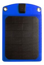 Platinum Choice Products -Solar Phone Charger Blue-Best Outdoor Accessory for...