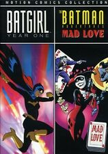 Batgirl: Year One/The Batman Adventures: Mad Love - M (2010, DVD NIEUW) DVD-R/WS