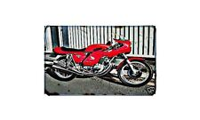 Cr750 Motorbike A4 photo Retro Bike