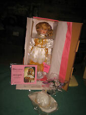VINTAGE NIB PARADISE GALLERIES DELTA DAWN MUSICAL PORCELAIN DOLL BY CINDY SHAFER