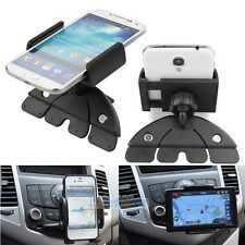 360° Car Auto CD Slot Mount Cradle Holder Stand for Mobile Smart Cell Phone GPS