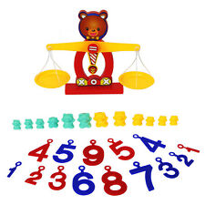 12 Bears and 14 Numbers Balance Scale Toy Kids Mathematics Developmental Toy