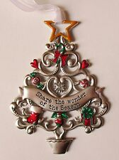 MD Share the wonder of the Season ORNAMENT Christmas wishes tree Ganz car charm