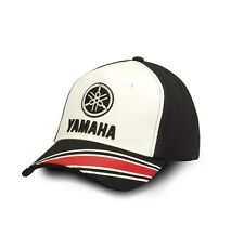 Official 2017 Yamaha REVS Adults Black/White Jordan Trucker Baseball Cap
