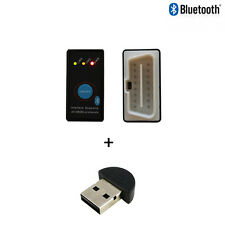 Mini ELM327 Bluetooth OBD2 Car Scanner + Power Switch v1.2+ Bluetooth USB Dongle