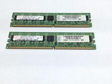 2GB (2x1GB) Hynix HYMP 512U72CP8 PC2-4200E DDR2-533 PC Memoria RAM | R:157